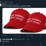 Is the term MAGA a sign of hate?
